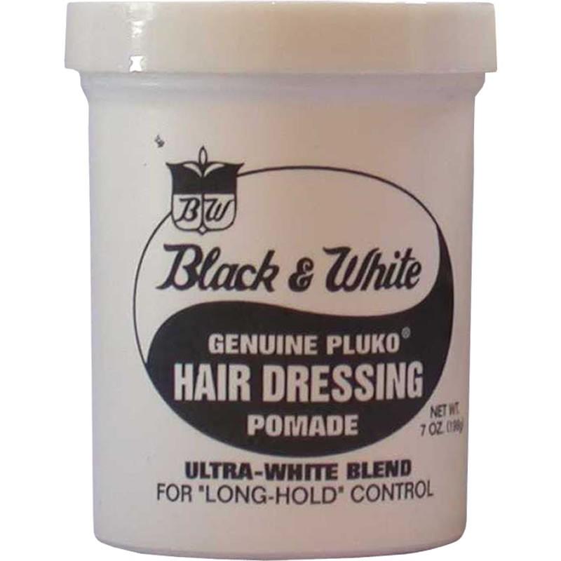 Black & White Hairdressing Pomade 200ml – Normal