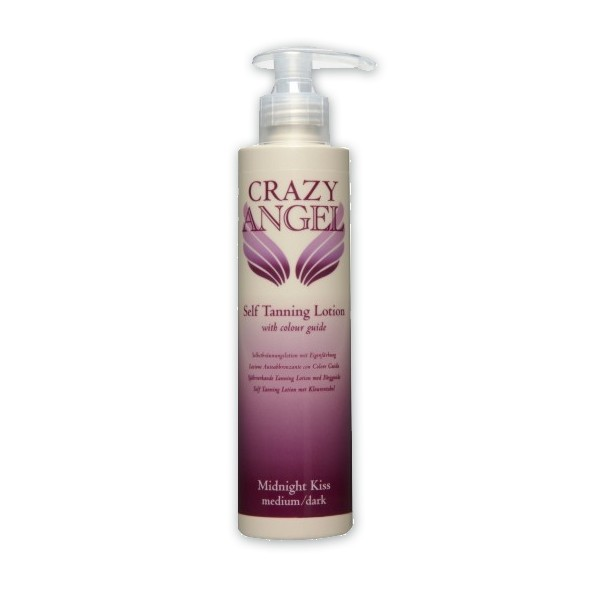 Crazy Angel Self Tanning Lotion Midnight Kiss 200ml