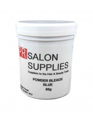PR Salon Supplies Blue Powder Bleach 80g
