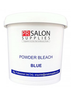 PR Salon Supplies Blue Powder Bleach 500g