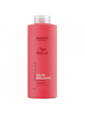 Wella Color Brilliance Shampoo 1000ml - Fine/Normal