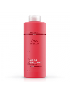 Wella Color Brilliance Shampoo 1000ml - Coarse