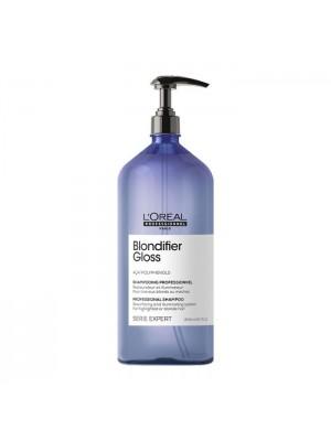 L'Oreal Serie Expert Blondifier Gloss Shampoo - 1500ml