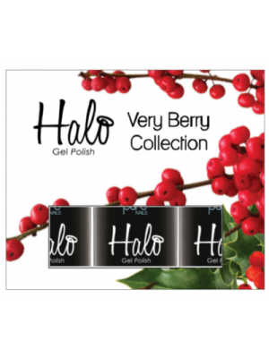 Pure Nails Halo Very Berry Collection- 3 Pack