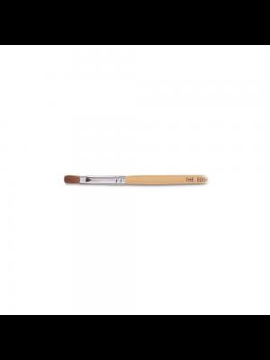 The Edge Nails Kolinski Sable Flat Nail Brush - No 6
