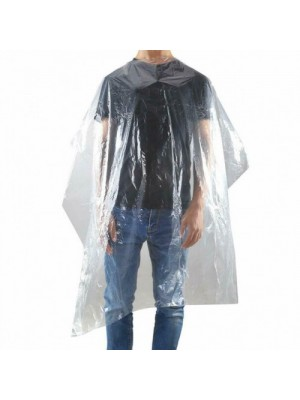 DEO Disposable Polythene Clear Gowns 120x150cm 100 pack