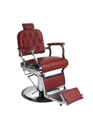 Salon Fit - Empire Barbers Chair - Red