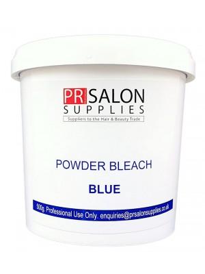 PR Salon Supplies Blue Powder Bleach 500g