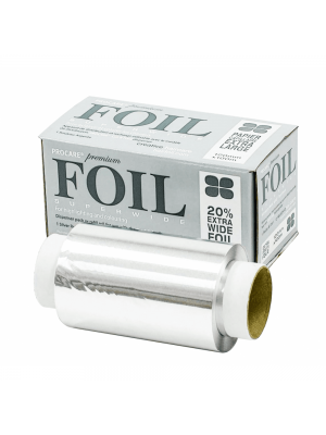 Procare Superwide Silver Hair Foil 120mm x 100m