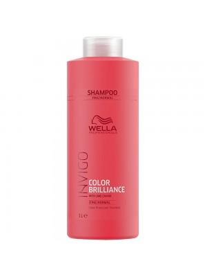 Wella Color Brilliance Shampoo 1000ml - Fine/Normal