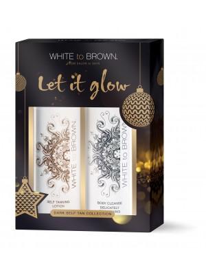 White To Brown Gift Set- Dark