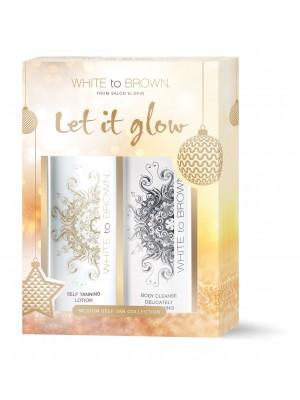 White To Brown Gift Set - Medium
