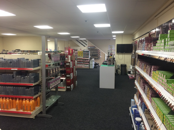 Inside PR Salon Supplies Hartlepool