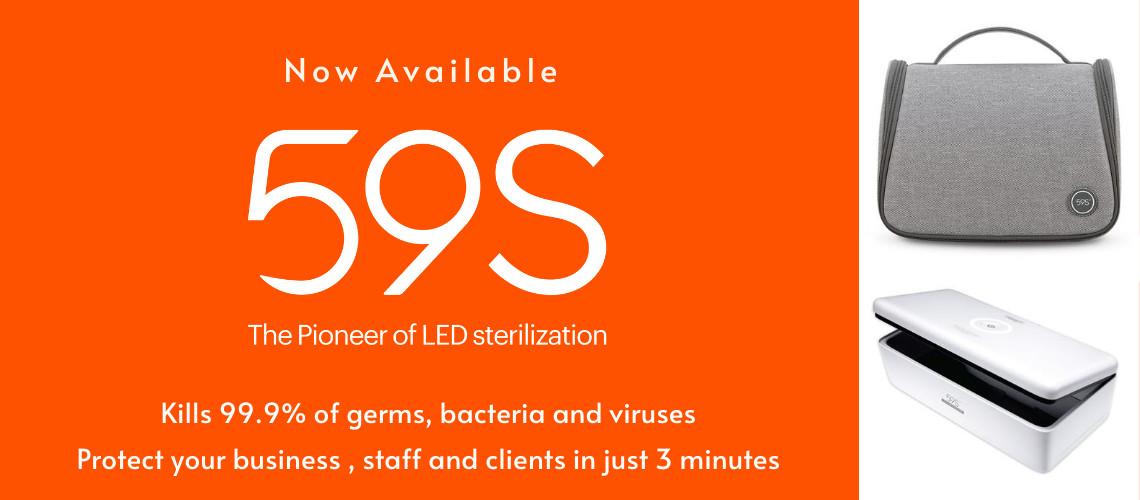59S LED sterilization