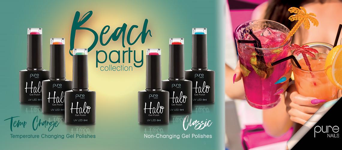 Halo Gel Polish Beach Party